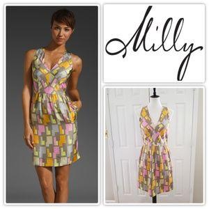 Milly 2017 'Camilla' Halter Dress - Size 6